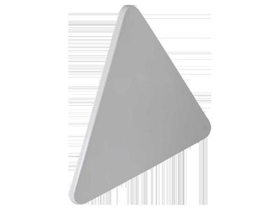 Panneau plastique triangulaire thermoformée