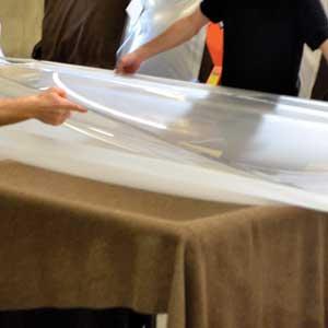 Atelier assemblage de coupoles